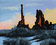 Timithy L Gordon - Sunrise at the Totem...