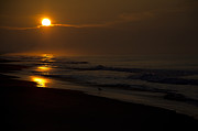 March Photos - Sunrise Atlantic Beach NC by Wilma  Birdwell