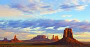 An  Pham - Sunrise colors at Monument Valley Arizona