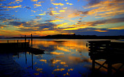 Mark Head - Sunrise fishing pier and...