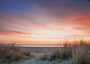 Sonnenaufgang Prints - Sunrise In The Dunes Print by Lars Zahner