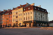 Heritage House Prints - Sunrise in Warsaw Print by Artur Bogacki
