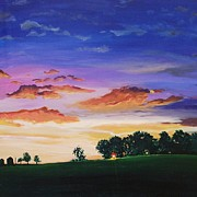 U.s.a. Originals - Sunrise Kizer Road by Leigh Ann Inskeep-Simpson