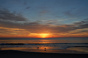 Lbi  Photographs Prints - Sunrise Ocean 180 Print by Joyce StJames
