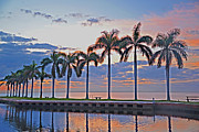 Allan Einhorn - Sunrise on Biscayne Bay
