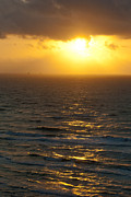 Sunrise On The Gulf Print by Barbara Shallue
