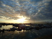 Charters Photos - Sunrise on the Spit by Patricia Twardzik