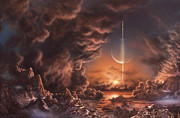 Don Dixon - Sunrise on Titan