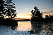 Bonnie Lynn - Sunrise on Winter Lake...