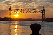Mma Photos - Sunrise over Cape Cod Canal by Dennis Coates