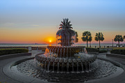 Sunrise Over Charleston Print by Dale Powell