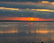 Duxbury Prints - Sunrise Over Duxbury Bay II Print by Steven David Roberts