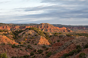 Caprock Canyons State Park Posters - Sunrise over Gods Country Poster by Melany Sarafis