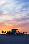 Art Block Collections - Sunrise Over Venice Beach