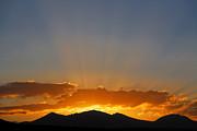 Sunrise Over Mountains Print by Robert Preston