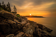 Mdi Framed Prints - Sunrise over Otter Cove Framed Print by Robert Clifford