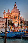 Water Vessels Posters - Sunrise over Venice Poster by Brian Jannsen