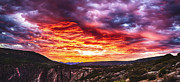 Gunnison Framed Prints - Sunrise Panorama Framed Print by Scotts Scapes