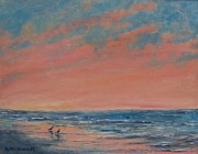 Kathleen McDermott - Sunrise - Two Gulls
