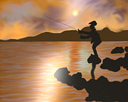 Shreya Sham - Sunset and Fishing @...