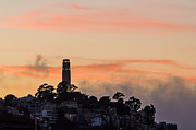 Kate Brown - Sunset and Fog over Coit Tower