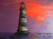 Joetta Beauford - Sunset and Lighthouse