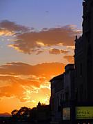 Elizabeth Rose - Sunset and Santa Fe Lensic Theater
