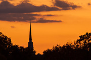 John Hassler - Sunset and Steeple