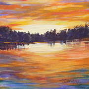 Trudy Morris - Sunset at Bass Lake