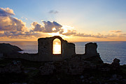 Terri Waters Framed Prints - Sunset at Botallack Framed Print by Terri  Waters