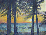 Nick Vogel Art - Sunset at Buhos by Nick Vogel