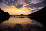 Saltspring Photo Originals - Sunset at burgoyne by Graham Foulkes
