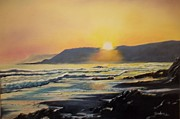 Terry Godinez - Sunset at Cayucos