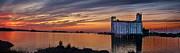 Andrea Kollo - Sunset at Collingwood Ontario Harbor