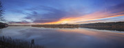JPLDesigns - Sunset at Columbia River...
