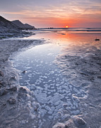 Julian Elliott - Sunset at Crackington...