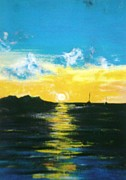 Naeema Bacchus - Sunset at Grand Case