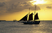Greg Graham - Sunset At Mallory Square...
