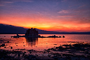 Sunset Prints - Sunset at Mono Lake Print by Cat Connor
