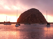 Art Block Collections - Sunset at Morro Rock