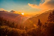 Keith Allen - Sunset at Morton Gap