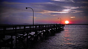 Mikki Cucuzzo Acrylic Prints - Sunset at Point Lookout Acrylic Print by Mikki Cucuzzo