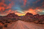 Eddie Yerkish - Sunset At Red Rock Canyon