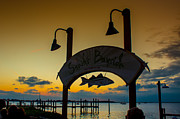 Sunset At Snooks Bayside Print by Rene Triay Photography