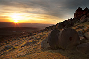 Mick Gosling - Sunset At Stanage Edge