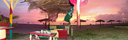 Sharon Pienaar - Sunset at sunshines bar
