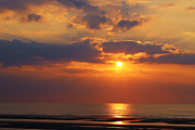 HJBH Photography - Sunset at the beach of Koksijde