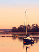 Sailing Photos - Sunset at the creek by Pixel Chimp