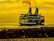 Nick Zelinsky - Sunset at the Ferry