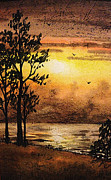 Irina Sztukowski - Sunset At The Lake